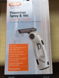 VAX powermax spray and vac window cleaner