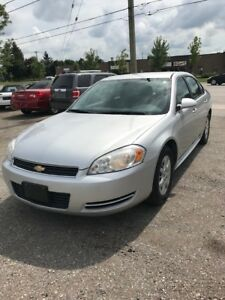 2011 CHEV IMPALA POLICE SPECIAL $6495.00 CERTIFIED