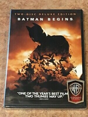 Batman Begins (DVD, 2-Disc Special Edition) BRAND NEW / FACTORY SEALED