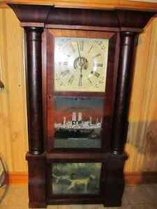 Birge Peck Company Antique Clock
