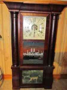 Birge Peck Company Antique Clock