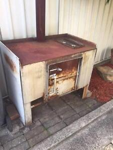 solid steel table bench mechanic bbq 6mm thick steel heater Wollongong Wollongong Area Preview