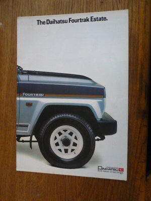 DAIHATSU FOURTRACK ESTATE CAR BROCHURE for sale  Frodsham