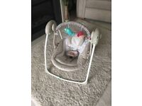 Baby swing immaculate condition