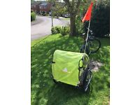 Adventure at3 2-seat cycle trailer - Ideal for ferrying young children especially at CentreParks
