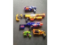 NERF GUN BUNDLE - ALL GREAT CONDITION WITH BULLETS