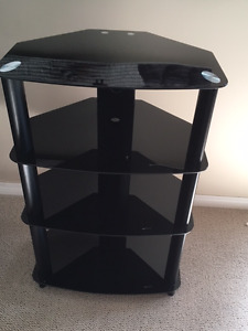 Glass Entertainment Stand - BRAND NEW!!