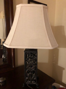 2 Beautiful table Lamps-  $75.00 for both!!