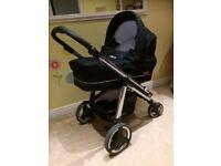 Baby Travel System - Combi Pram + Maxi Car Seat & Base