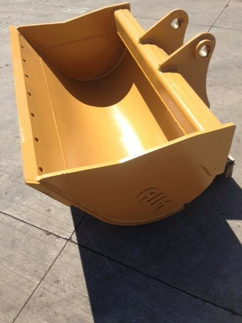 "New 48"" Caterpillar 308c Ditch Cleaning Bucket With Pins"