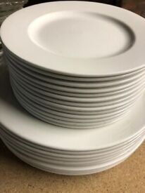 Assorted Churchill Whiteware Classic Plates