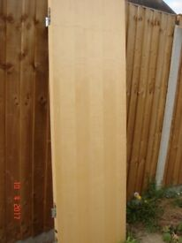 Interior fire doors FD 30. 2 x flush unpainted. Great condition Priced individually