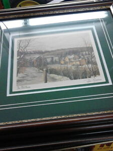 PETER ROBSON SIGNED & FRAMED PRINTS - Numbered London Ontario image 2