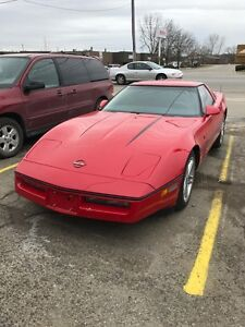 1986 CHEV CORVETTE TARGA TOP $10,900 CERTIFIED