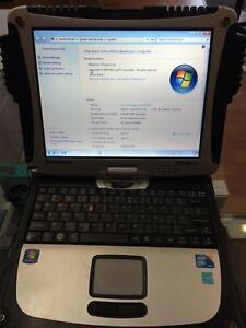 Panasonic Tough Book Core i5 - U 540@1.20 GHz/160 GB HDD/4.0 RA