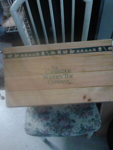 VERY SOLID WOODEN TOY BOX London Ontario image 1