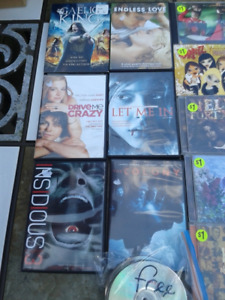 Movies and Music Cds  New-Like New LOT
