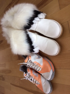Boots, sandals, leather &other, size 9,  perfect condition