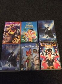 60 Childrens DVD's (mostly Disney and dreamworks)