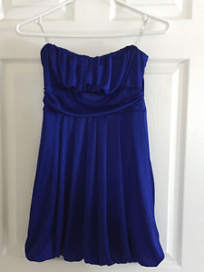 Strapless dress perfect for prom, grad, weddings