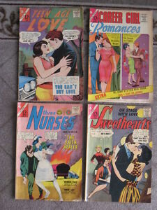 Romance And Girl Comics from the 1960s