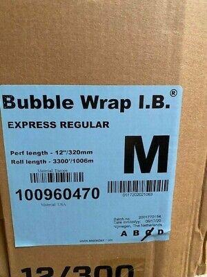 Sealedair Bubble Wrap I.b Express Regular - Perf Length 12 X 3300 Roll Medium