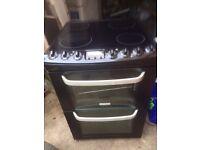 £127.30 Electrolux black ceramic electric cooker+60cm+3 months warranty for £127.30