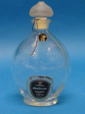 VINTAGE SHALIMAR GUERLAIN LARGE PERFUME BOTTLE  250ml
