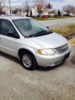 2001 Chrysler Town & Country Familiale  Limited Edition