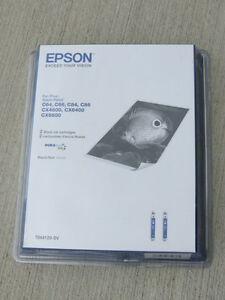 Epson Black Printer Cartridges and include Epson C84 Printer