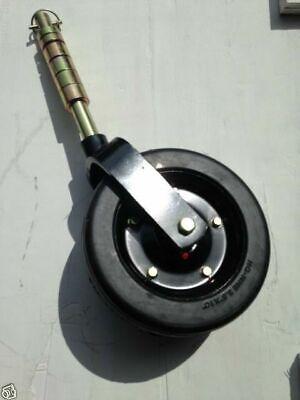 Bush Hog 50074208 88683 10x3.25 Solid Finish Mower Wheel Caster Assembly