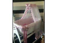 Stunning baby girls designer crib