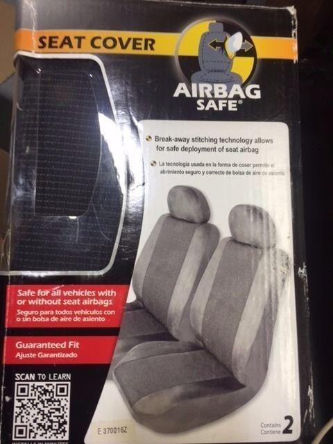 AIR BAG SAFE E370016Z SEAT COVER, GRAY (RW33C-016)