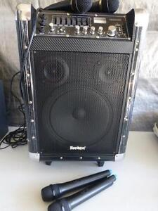 Sontric 100W All In 1 Portable Pa Amp Speaker Buderim Maroochydore Area Preview
