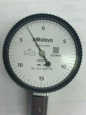 Mitutoyo 513-402-10e .03 Horizontal Test Indicator - New In Box