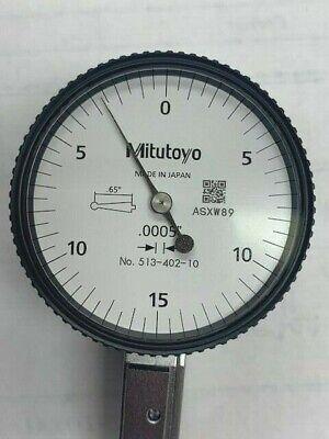 Mitutoyo 513-402-10e .03 Horizontal Test Indicator - New In Box