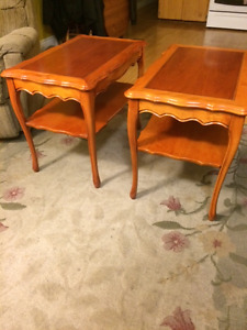 End Tables [2], Solid Wood