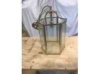 Ceiling Pendant Light Fitting - Brass Finish