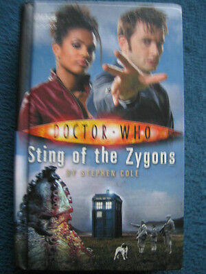 Doctor Who - Sting of the Zygons by Steve Cole BBC Hardback Book