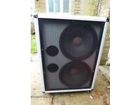 "Marshall 2x15"" silver jubilee speaker cab and HH bass valve sound amp - sounds good with any guitar"