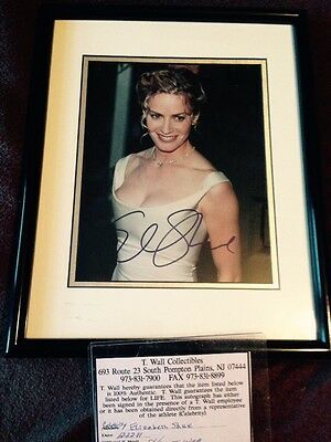 Elisabeth Shue Signed Pic With Coa