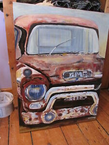 57 GMC Truck Paintings