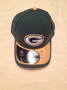 New with Tags Greenbay and  Seahawks NFL Caps with Flex Fit