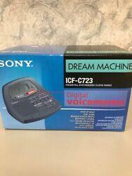 Sony Dream Machine Alarm Clock Digital AM/FM Radio  ICF-C723 ***NIB***