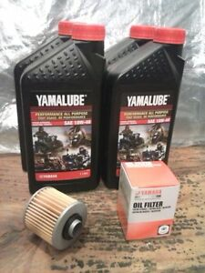 Motorcycle oil and filter
