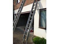 Triple Aluminium Extension Ladders