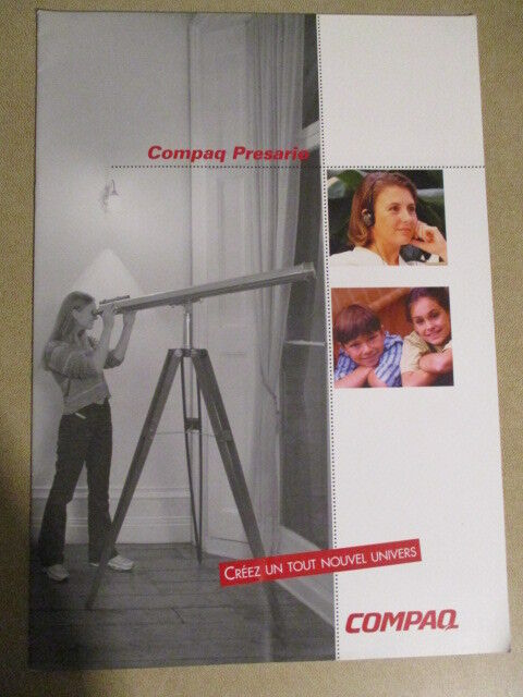 INFORMATIQUE : CATALOGUE COMPAQ PRESARIO - 1998 -