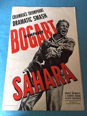 SAHARA: WITH HUMPHREY BOGART *PRESS KIT*