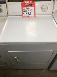 LARGE SELECTION OF ELECTRIC DRYERS IN STOCK