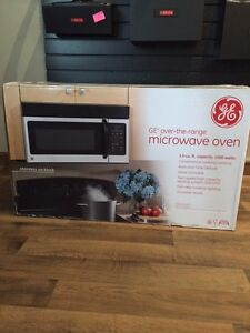 GE over the range microwave new